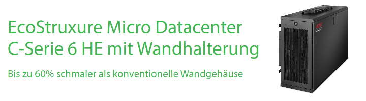 EcoStruxure Micro Datacenter 6HE